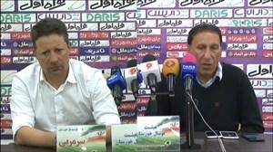 کنفرانسخبری پس از بازی استقلال خوزستان و صنعتنفت