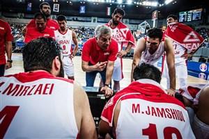 چگونگی صعود تیم ملی بسکتبال ایران به جام جهانی