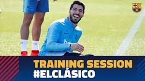 تمرین امروز بارسلونا (06-12-97)