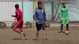 نگاهیبهحضور آشتیانیروینیمکت فوتبال ساحلی افغانستان
