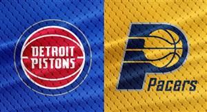 خلاصه بسکتبال ایندیانا پیسرز - دیترویت پیستونز