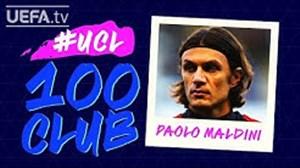 افتخارات پائولو مالدینی در لیگ قهرمانان اروپا