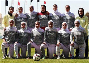 گزارشی از تمرینات تیم ملی فوتبال بانوان