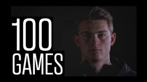100 بازی ماتیاس دلیخت برای آژاکس در سن 19 سالگی