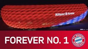 نمای خارجی فوق العاده از ورزشگاه آلیانز آرنا