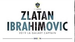زلاتان ابراهیموویچ; کاپیتان لس آنجلس گلکسی
