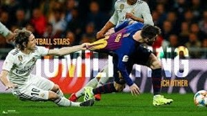 حرکات تکنیکی از ستارگان فوتبال