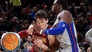 خلاصه بسکتبال کلیولند کاوالیرز - دیترویت پیستونز