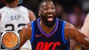 خلاصه بسکتبال اوکلاهاماسیتی - سن آنتونیو اسپرز