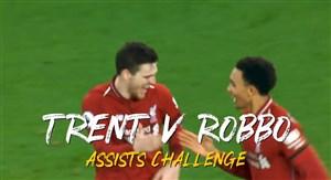 چالش پاس گل بین رابرتسون و آرنولد