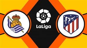 خلاصه بازی رئال سوسیداد 0 - اتلتیکو مادرید 2 (دبل موراتا)