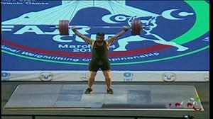 حرکات یک ضرب علی هاشمی (مدال طلا انتخابی المپیک توکیو2020)