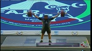 حرکات یک ضرب کیا قدمی (مدال برنز انتخابی المپیک توکیو2020)