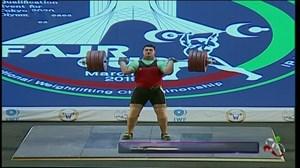 حرکات دوضرب علی داوودی(مدال طلا انتخابی المپیک2020توکیو)