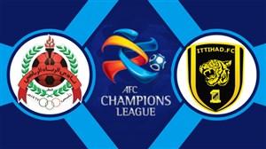 خلاصه بازی الاتحاد عربستان 5 - الریان قطر 1