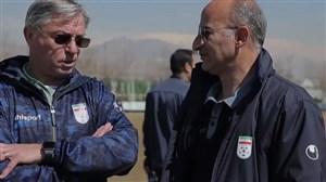 گزارشی از تمرین تیم ملی امید