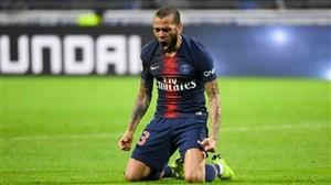 5 گل برتر دنی آلوز در جمع پاریسی ها