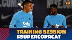 تمرینات امروز بارسلونا (14-12-97)