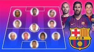 بهترین ترکیب بارسلونا در تاریخ فوتبال