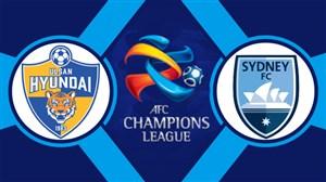 خلاصه بازی اف سی سیدنی 0 - اولسان هیوندای 0
