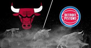 خلاصه بسکتبال دیترویت پیستونز - شیکاگو بولز