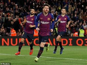 ترکیب اصلی بارسلونا و لیون اعلام شد