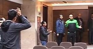 کنفرانسخبری جنجالی منصوریان بعد از بازی با پدیده