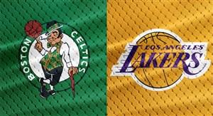 خلاصه بسکتبال لس آنجلس لیکرز - بوستون سلتیکس