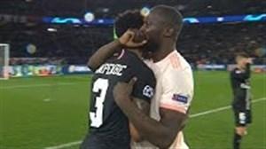 لحظات خوش و بش و رفتارهای دوستانه ستارگان فوتبال