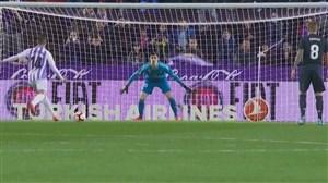 از دست دادن پنالتی توسط آلکاراز برابر رئال مادرید