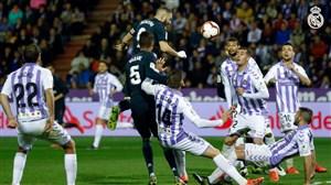 گل سوم رئال مادرید به وایادولید (دبل بنزما)
