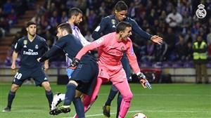 گل اول رئال مادرید به وایادولید توسط واران