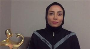 گفتوگوی زری فتحی، داور بانوی بین المللی ایران با ورزش سه