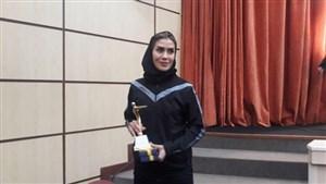 تقدیر از بانوان داور در مراسم بهترین های داوری ایران