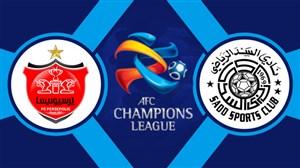 خلاصه بازی السد قطر 1 - پرسپولیس 0