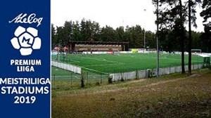استادیوم های لیگ برتر استونی