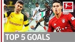 5 گل برتر هفته بیست و پنجم بوندسلیگا