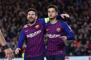 بارسلونا 5-1 لیون: شگفتی ای در کار نبود