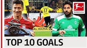 10 گلزن برتر غیر آلمانی بوندسلیگا