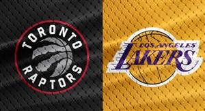 خلاصه بسکتبال لس آنجلس لیکرز - تورنتو رپترز