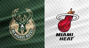 خلاصه بسکتبال میامی هیت -میلواکی باکس