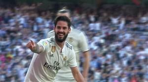 گل اول رئال مادرید به سلتاویگو توسط ایسکو