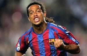 بازی خاطره انگیز بارسلونا - آث میلان در سال 2005