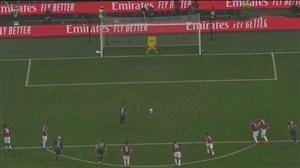 گل سوم اینتر به آث میلان (مارتینز-پنالتی)