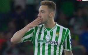 گل اول بتیس به بارسلونا (لورن)