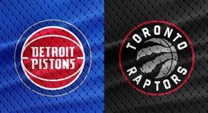 خلاصه بسکتبال تورنتو رپترز - دیترویت پیستونز