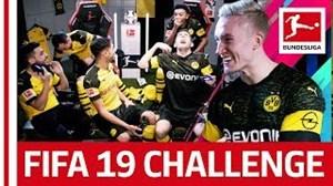 چالش FIFA19 بازیکنان دورتموند