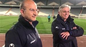 اختصاصی ؛ صحبتهای کرانچار در حاشیه تمرین امیدها در ورزشگاه آزادی