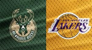 خلاصه بسکتبال لس آنجلس لیکرز - میلواکی باکس