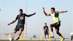 تمرینات تیم ملی برزیل (29-12-97)